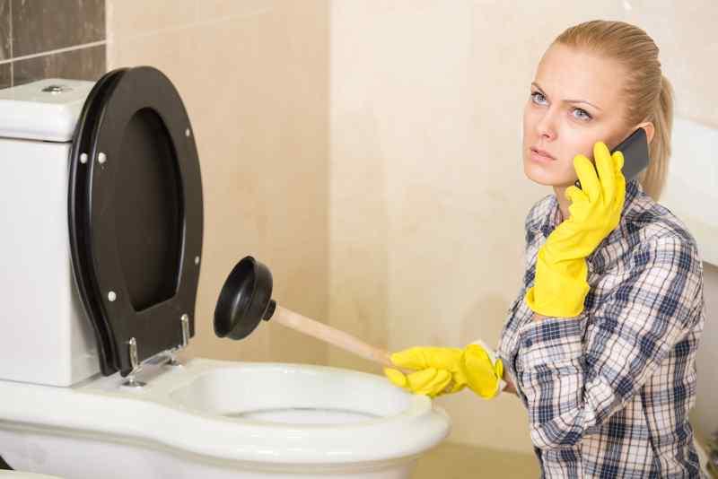 Toiletten Reinigung und Entkalkungsanlagen